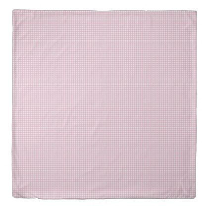 Pretty Pink Gingham Check Pattern Duvet Cover Girly Gift Gifts Ideas Cyo Diy Special Unique Duvet Cover Pattern Pink Gingham Girly Gifts