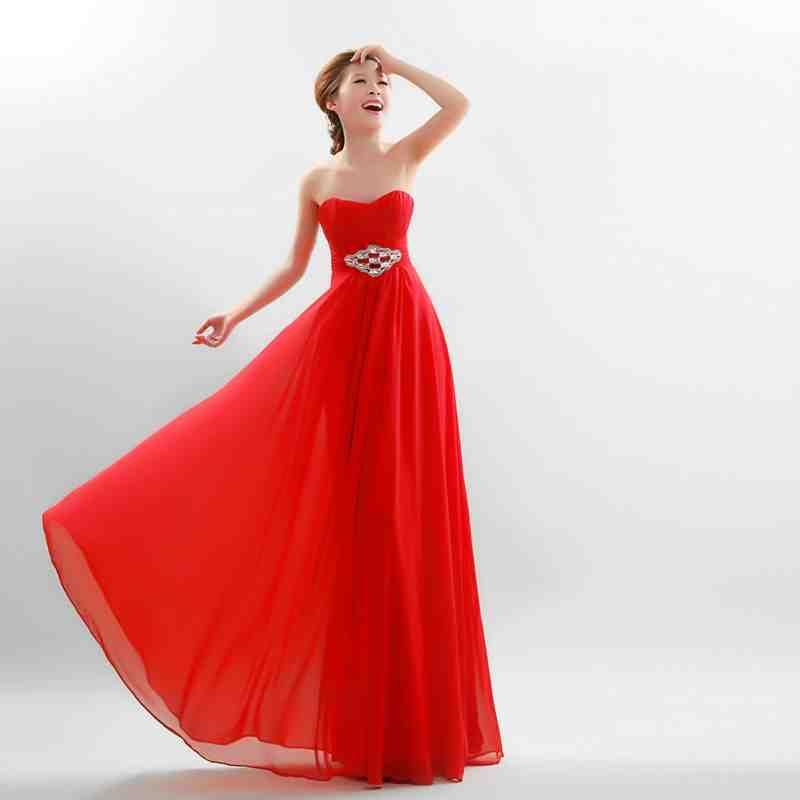 Simple Red Wedding Dresses Red Wedding Dresses Wedding Dress Trends Long Train Wedding Dress