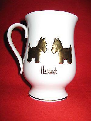 Harrods Knightsbridge Fine Bone China Coffee Tea Cup Mug