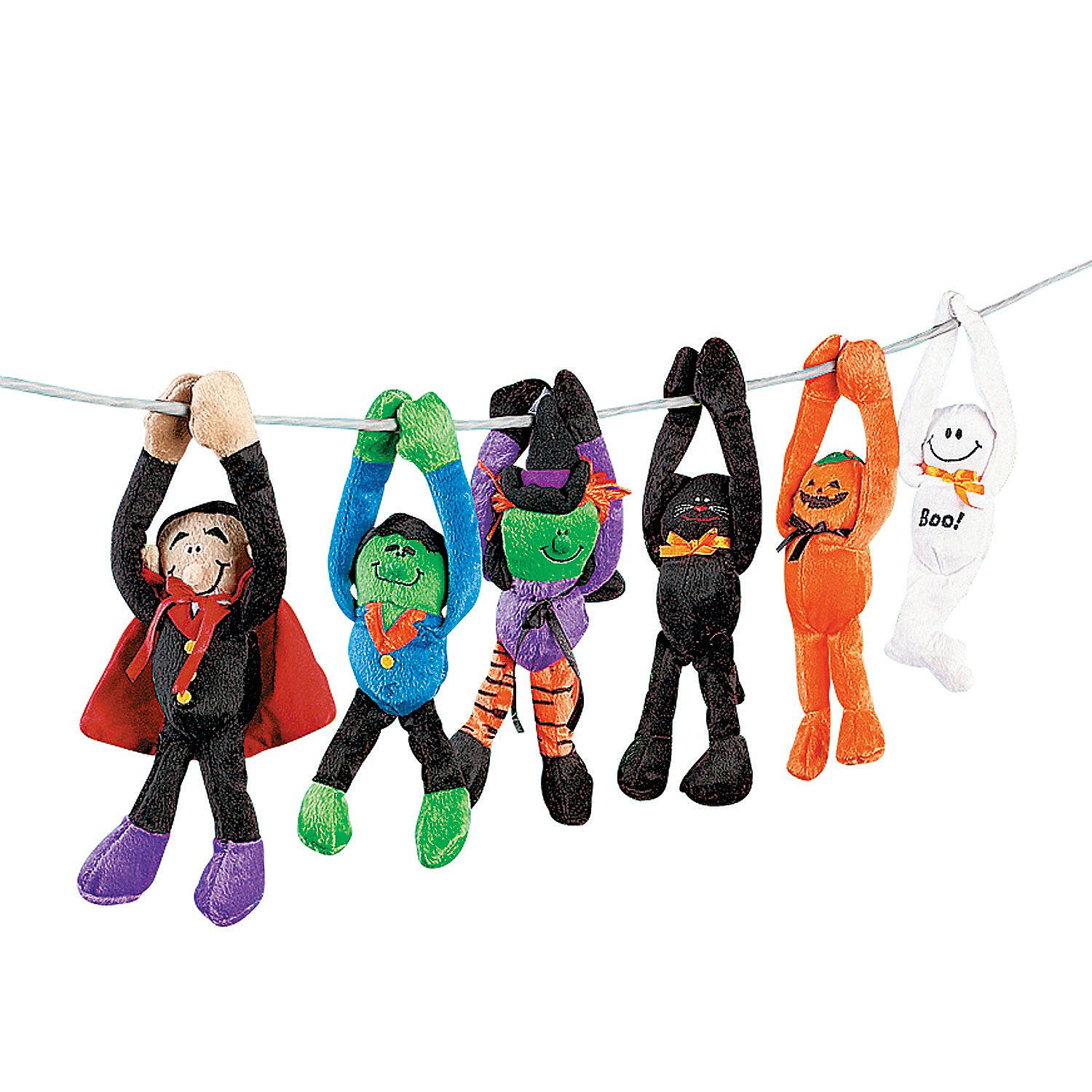 Long Arm Halloween Stuffed Characters Outdoor halloween