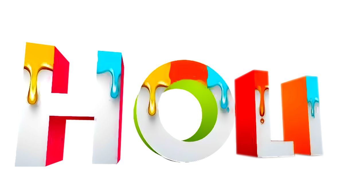 Holidays Category Holi Image It Is Of Type Png It Is Related To Highdefinition Television Apron Gudi Padwa Cubbyhole Gulal Pan Holi Images Wallpaper Clip Art