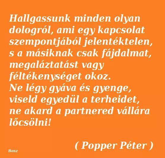 idézetek popper péter Popper Péter | Quotations, Life quotes, Quotes