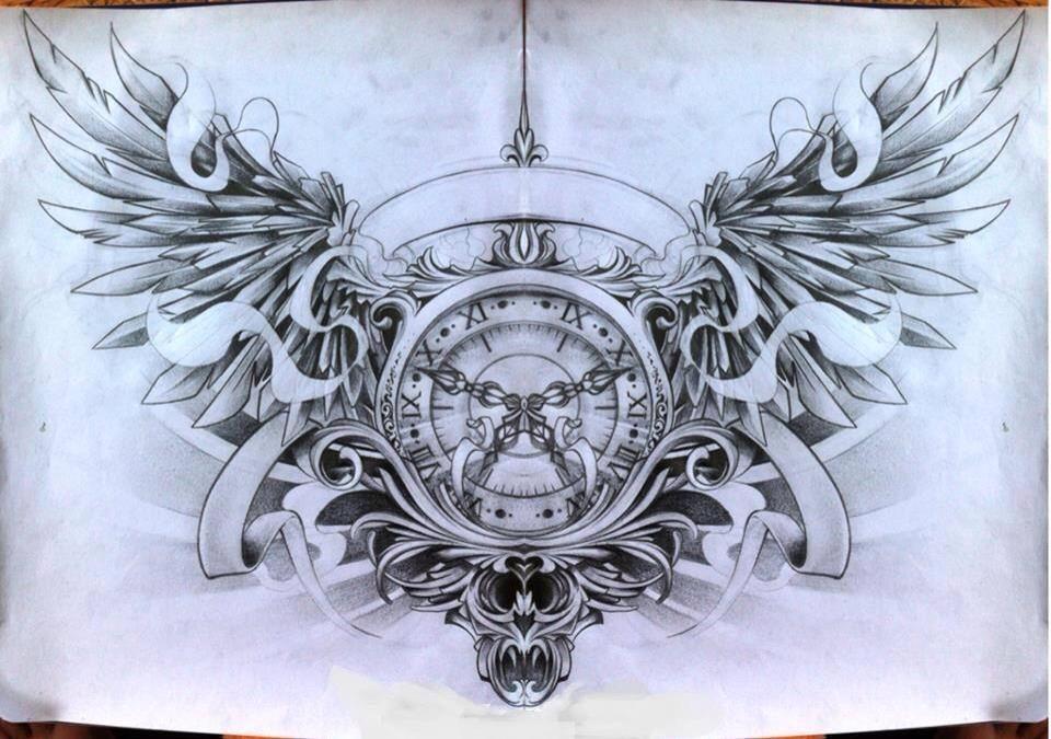 Looking To Get This As A Chest Tattoo Http Www Deviantart Com Art Sketch 1 408325257 Https Www Facebook Com Tatt Hinh Xăm Hinh Xăm đoi Canh Hinh Xăm Mau