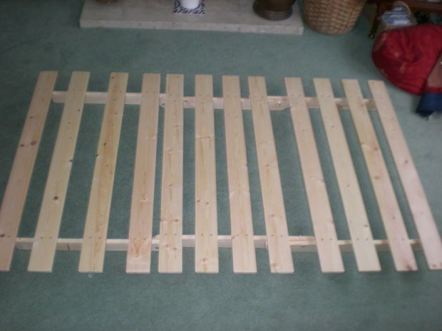 how to make a futon frame directions