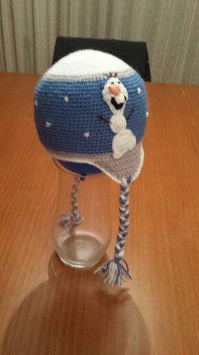 Gorro de Frozen amb l'Olaf