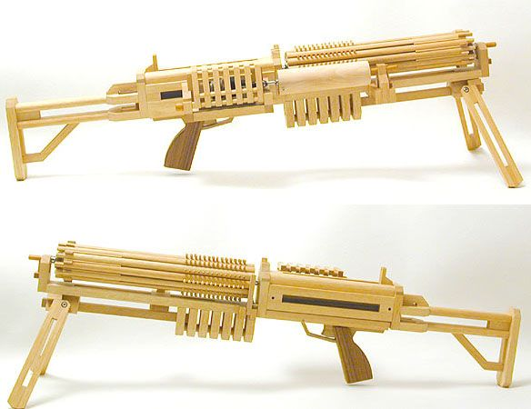 Ogg Craft Semi Auto Rubber Band Guns Awesome New Toys
