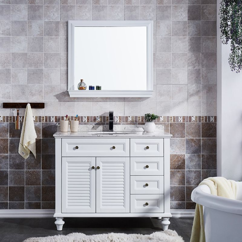 solid wood bathroom vanity seet 48inch