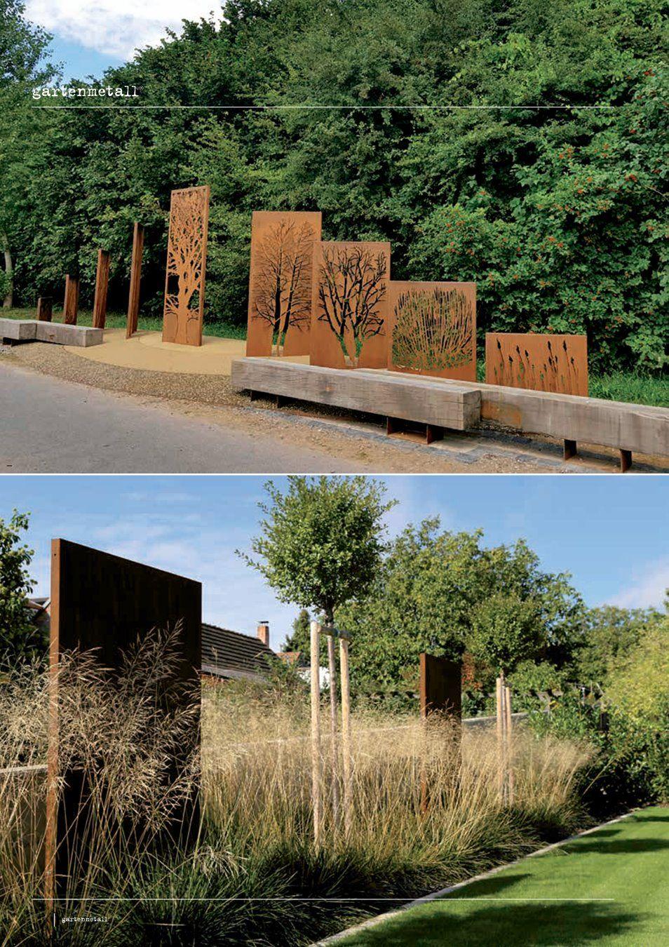 Gartenmetall Preisliste Gartengestaltung Landschaftspflege Sichtschutzwand Garten