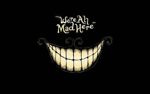 Alice In Wonderland Gato Rison Fondo De Pantalla Frases