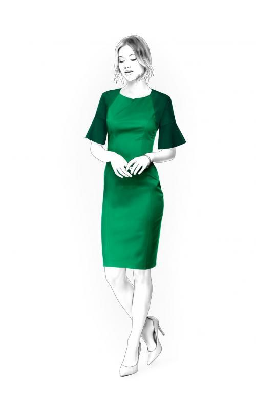 Lekala 4426 Dress Sewing Pattern PDF Download Free by TipTopFit ...