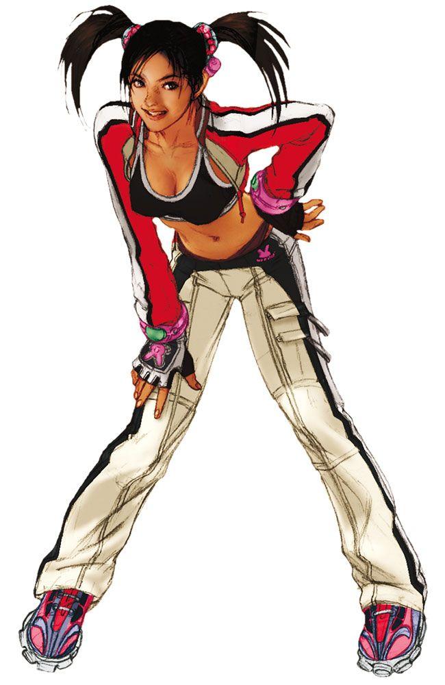 Ling Xiaoyu Official Artworks Tekken 4 Tekken Cosplay Game