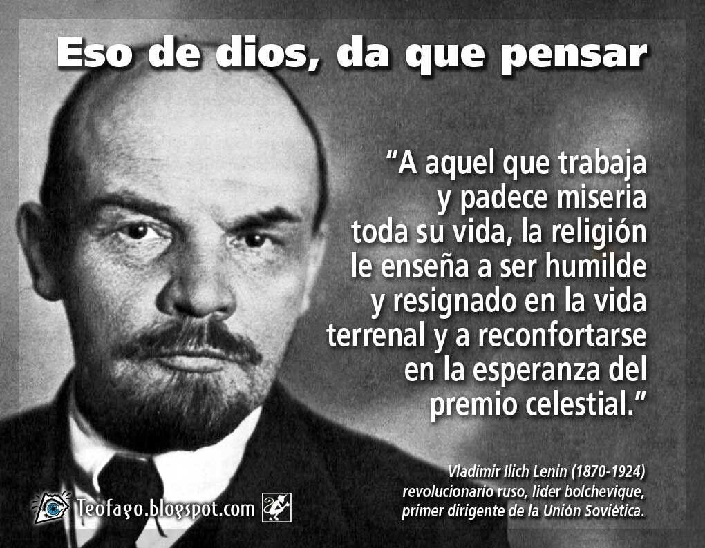 Frases De Lenin Jr - Gabriel Garcia Marquez