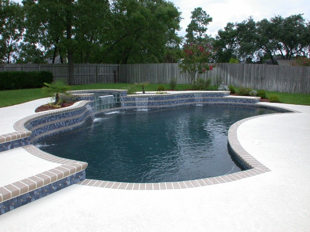 100 Best Images About Pool Coping On Pinterest: Concrete, Brick Coping, Dark Pebble