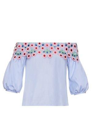 Pallas off-the-shoulder blouse | Peter Pilotto | MATCHESFASHION.COM US