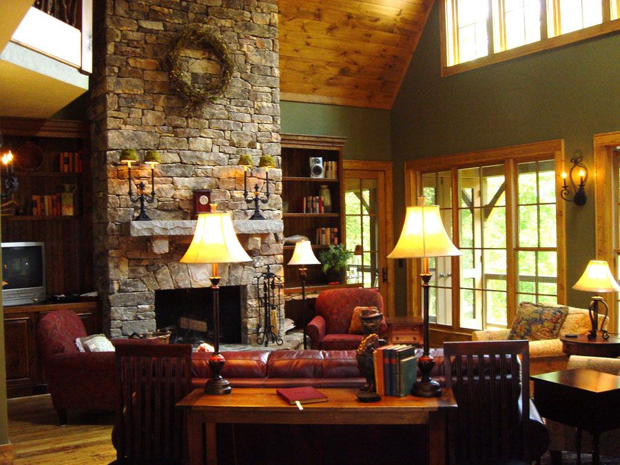 Cabin Interior Design Ideas rustic kitchens Interior Design Ideas Cottageinterior Design Cabin Interior Design Ideas