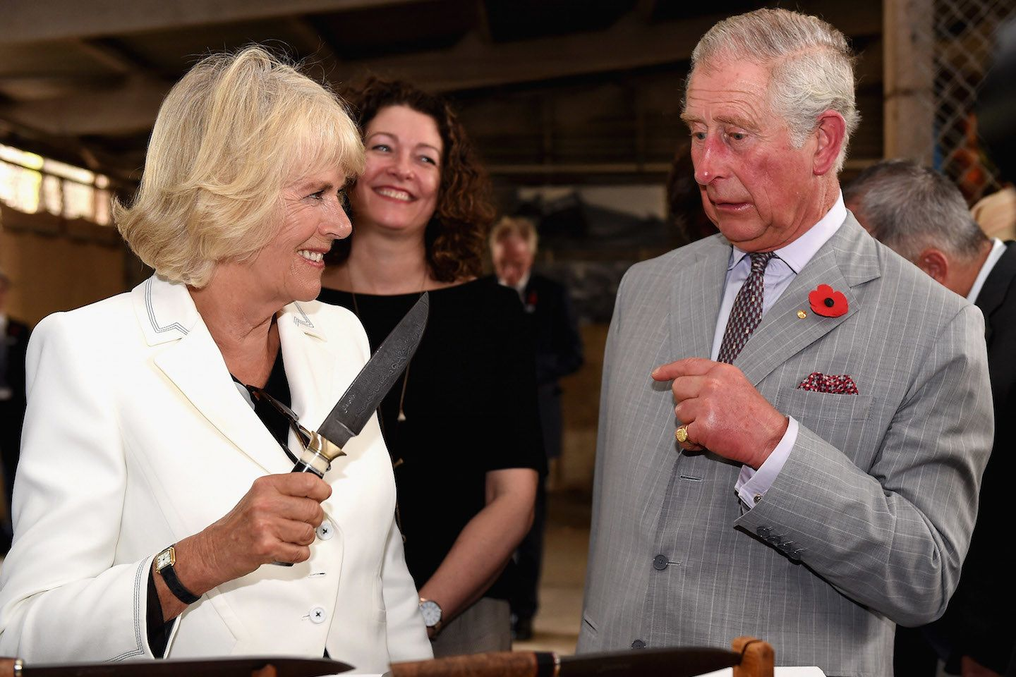 Behave yourself, Prince Charles.