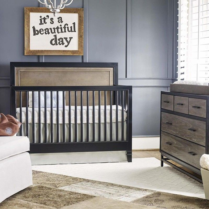 Beautiful Buy Your Levi Gray Convertible Crib By SmartStuff (Universal Furniture)  Here. Its Modern, Industrial Vibe And Rich Color Palette Make The Levi Gray  ...