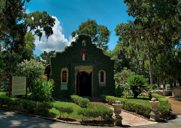 Nombre Dios Mission in St. Augustine, Florida http://www.floridarent.com/bchclub