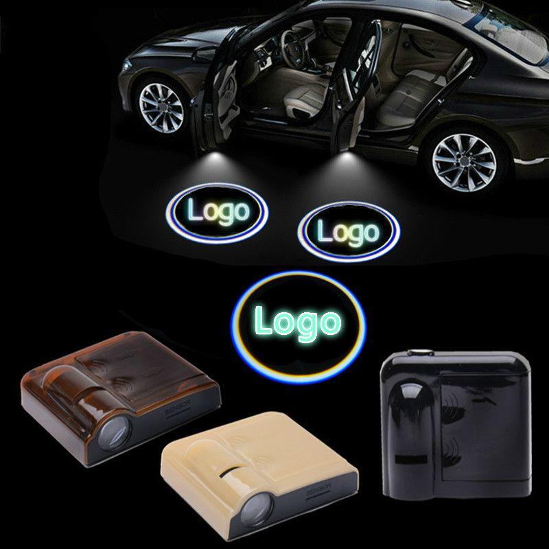 2pcs Wireless Car Door Welcome Light Logo For Lexus Badge Lights Led Laser Ghost Shadow 3d Projector Lamp For Most Cars Car Lights Projector Lamp Led Lights