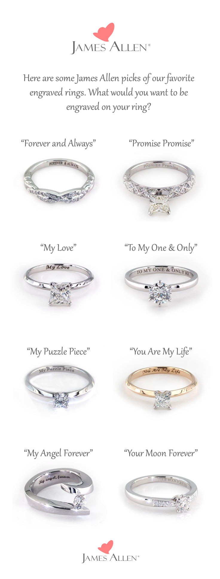 I Like Forever And Always W E D D I N G Engagement Rings Rings