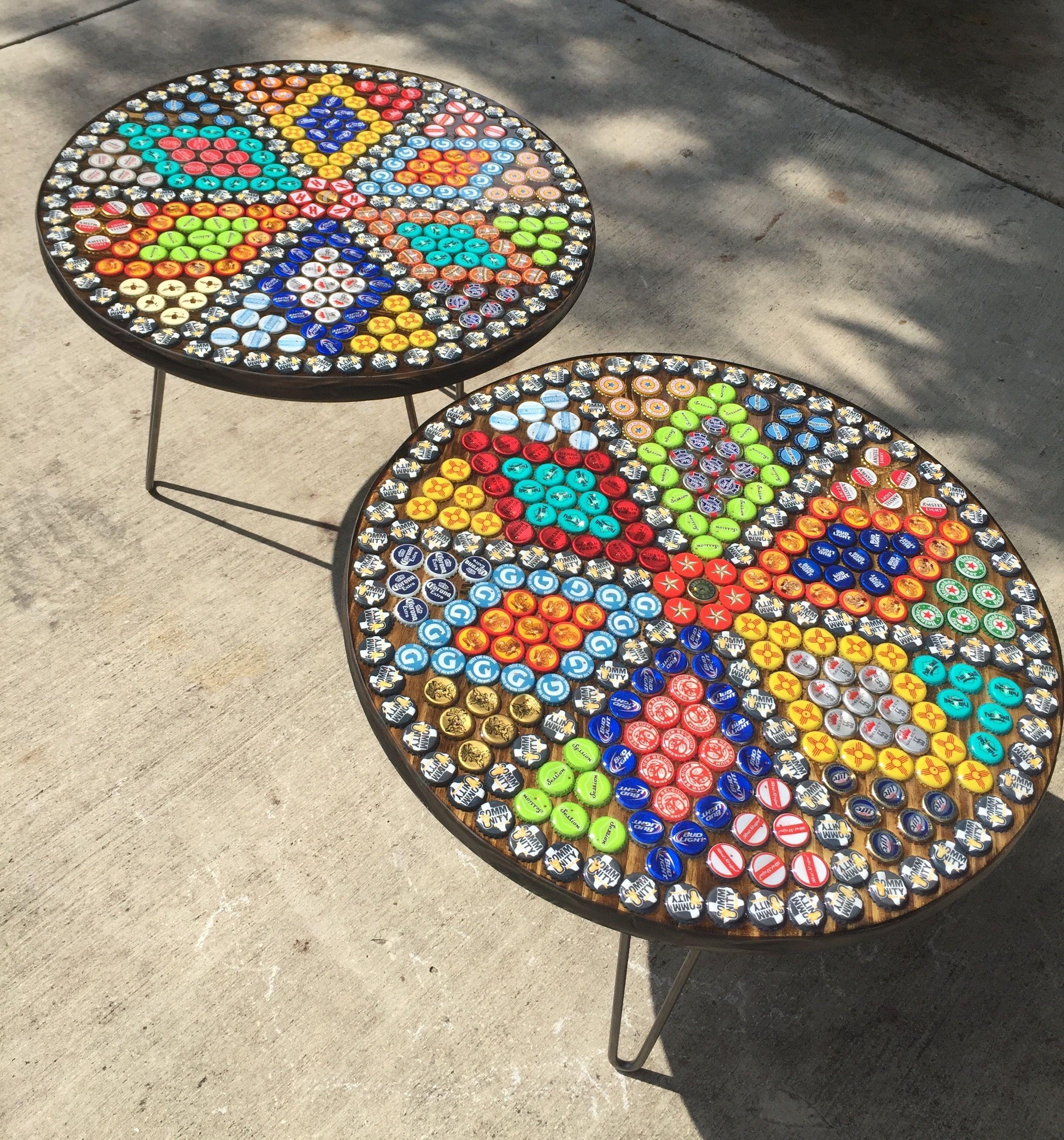 Für die Trittsteine im Garten. #bottlecaps