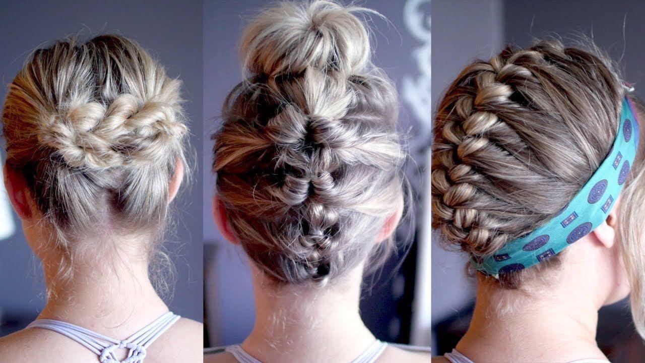 easy heatless hairstyles for greasy/oily hair | milabu