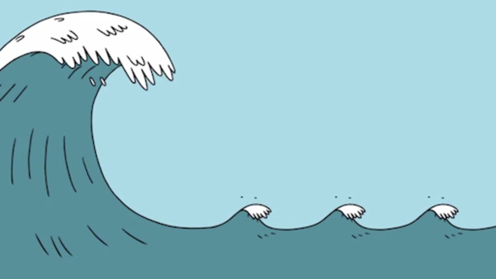Animation explains how tsunamis form and why they're so