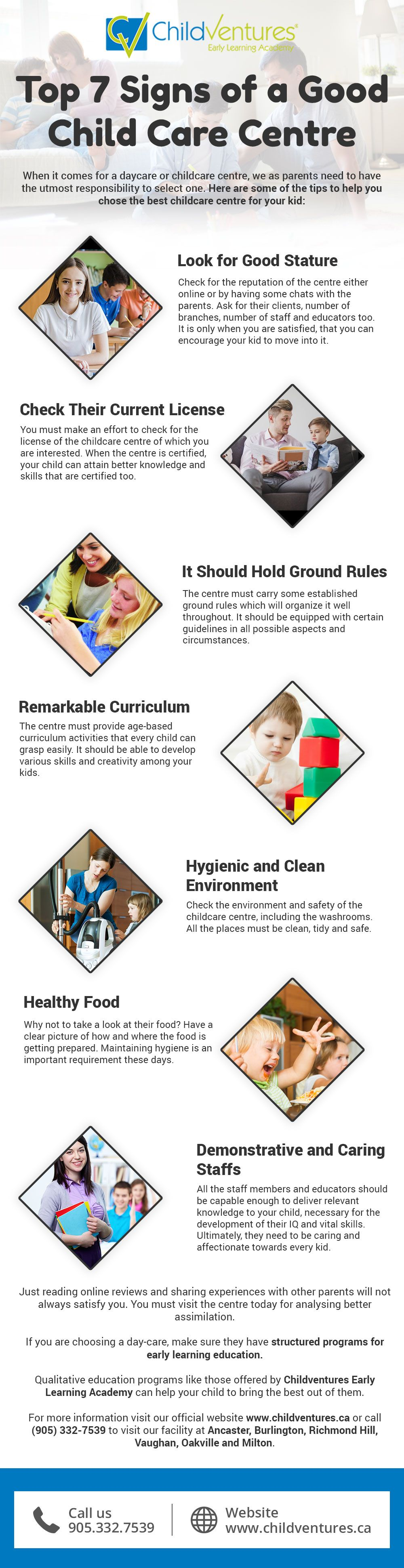 Choosing the right daycare or early learning academy is
