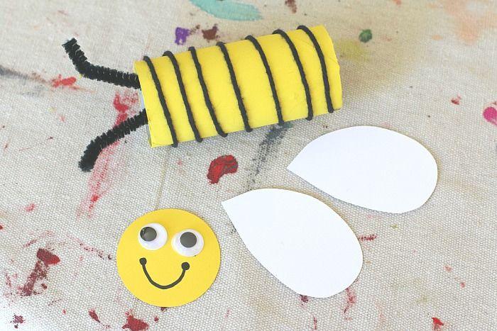 Basteln mit Kindern, einfache und kreative Idee für Kinder ...