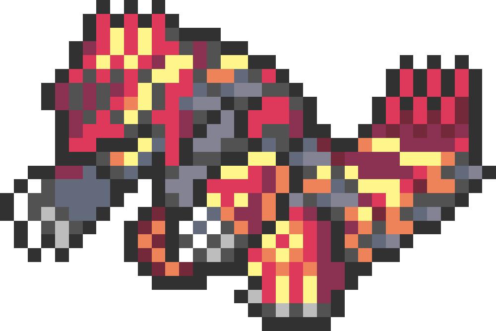 포켓몬 전국 도감 픽셀도트비즈 도안 Pokemon Pokedex Pixel