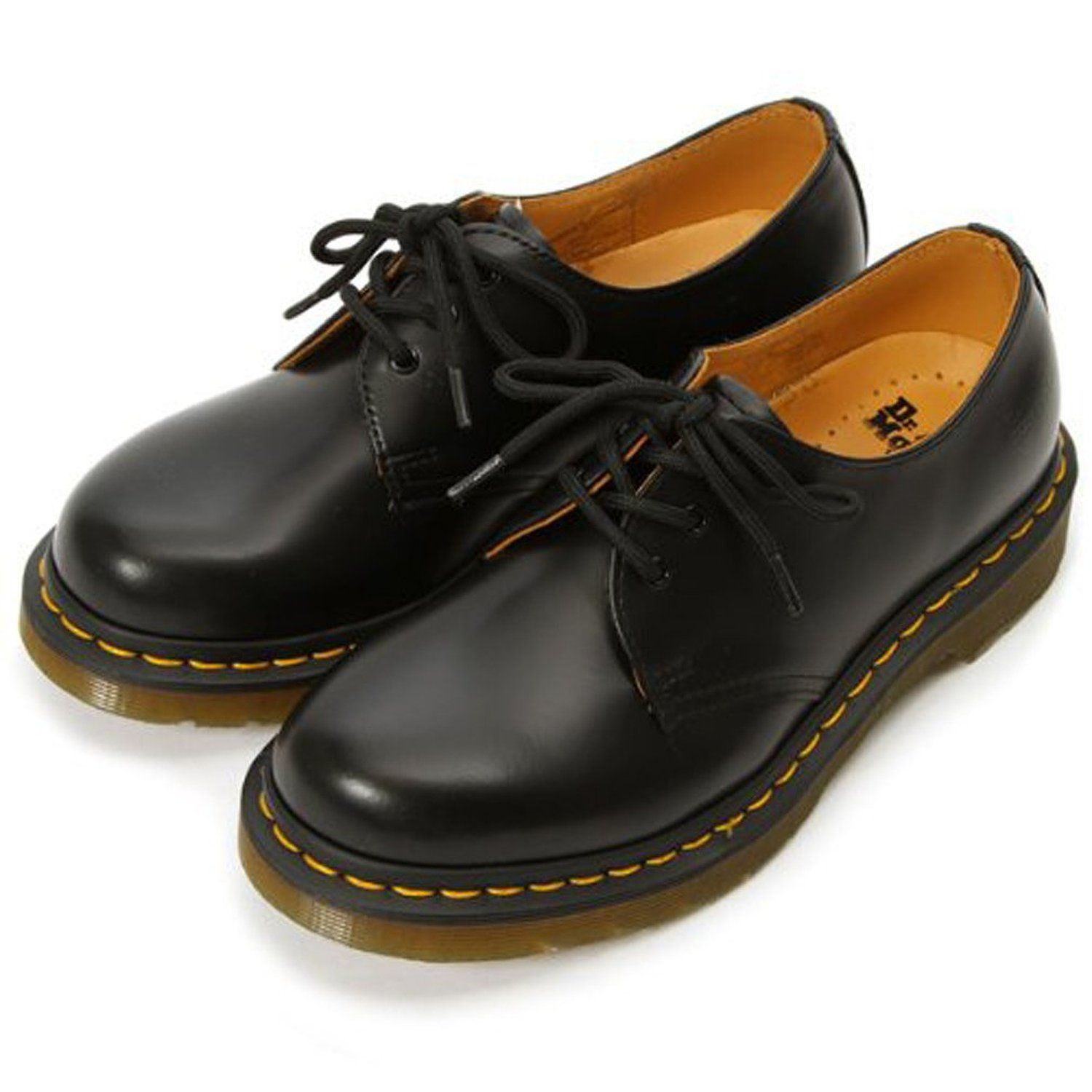 Amazon dr martens 1461 3eye mens gibson shoes for Amazon dr martens