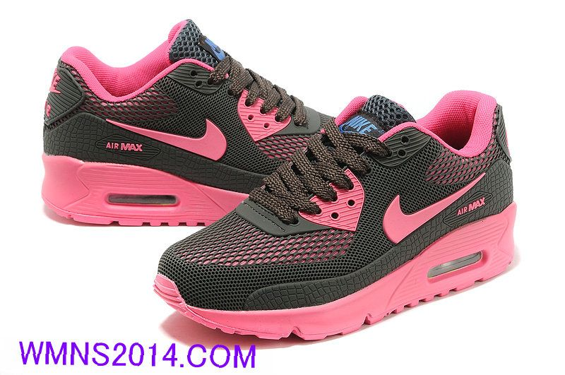 online retailer bb46b c29f7  59.0898 Nike Air Max 90 Carbon Grey Pink Nike Air Max Over 55% off