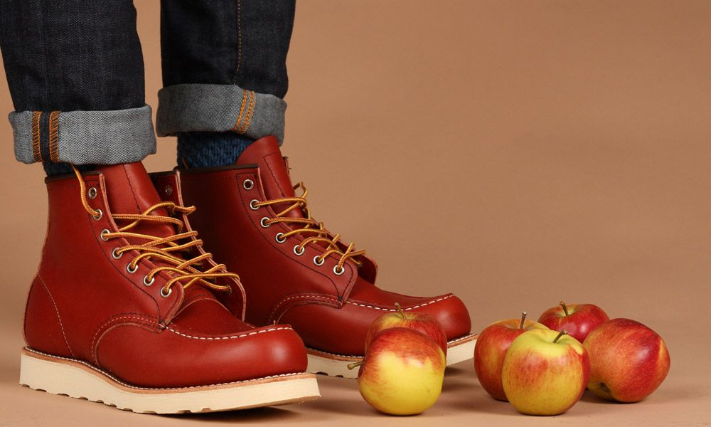Still-life: RED WING + APPLES.  Red Wing now stocked at TOWER London :)