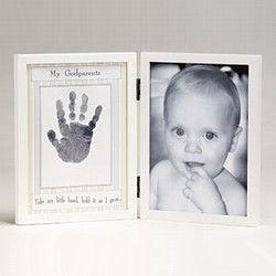 Black The Grandparent Gift Co Baby Keepsakes Little Hands Handprint Frame