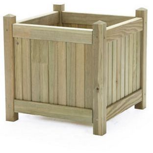 Wooden Bay Tree Planter Large From Homebasecouk The Garden