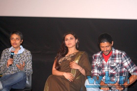 "Rani Mukherji, Reema Kagti and Farhan Akhtar Introduce Aamir Khan's ""Talaash"" to Kolkata - photo feature: http://www.washingtonbanglaradio.com/content/114572412-rani-mukherji-reema-kagti-and-farhan-akhtar-introduce-aamir-khans-talaash-kolkata"
