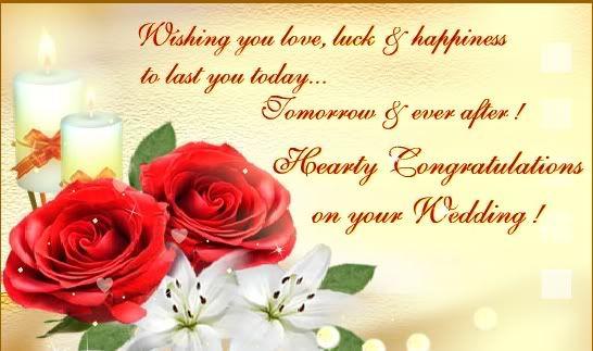 Congratulations On Your Wedding – Wedding Congratulation Quotes for a Card