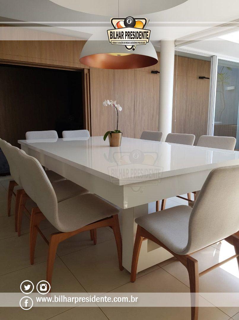 Mesa De Sinuca E Jantar Madrid Oferecemos Design Diferenciado