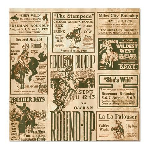 Rodeo Round Up Shower Curtain   $52.00 This Would Be Great In The Trailer!