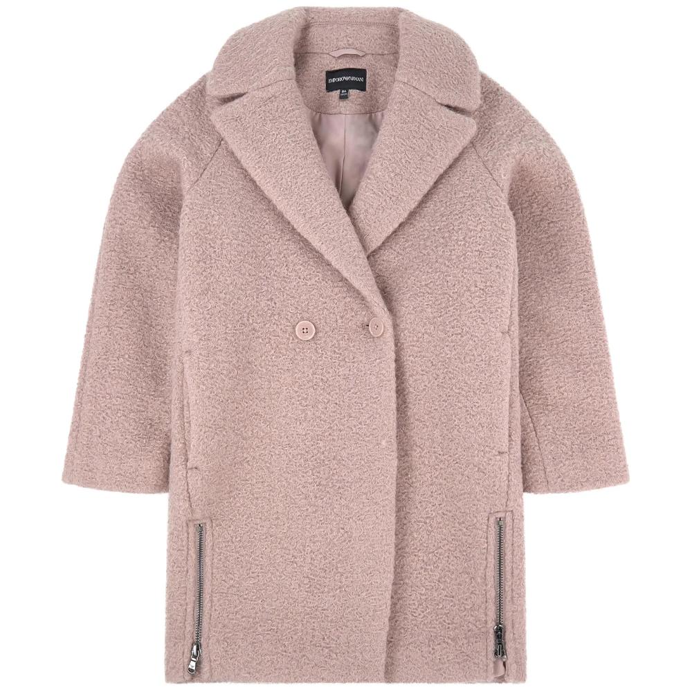 Emporio Armani Junior Pink Half Length Coat Armani Junior Asos Coat Coat [ 1000 x 1000 Pixel ]