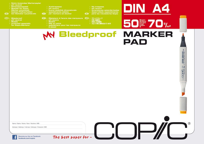 Copic Marker Block Alkohol Pad A4 50 Blatt 70gr Manga Layoutblock Papier 25001sparen25 Com Sparen25 De Sparen25 Info Copic Marker Schreibwaren