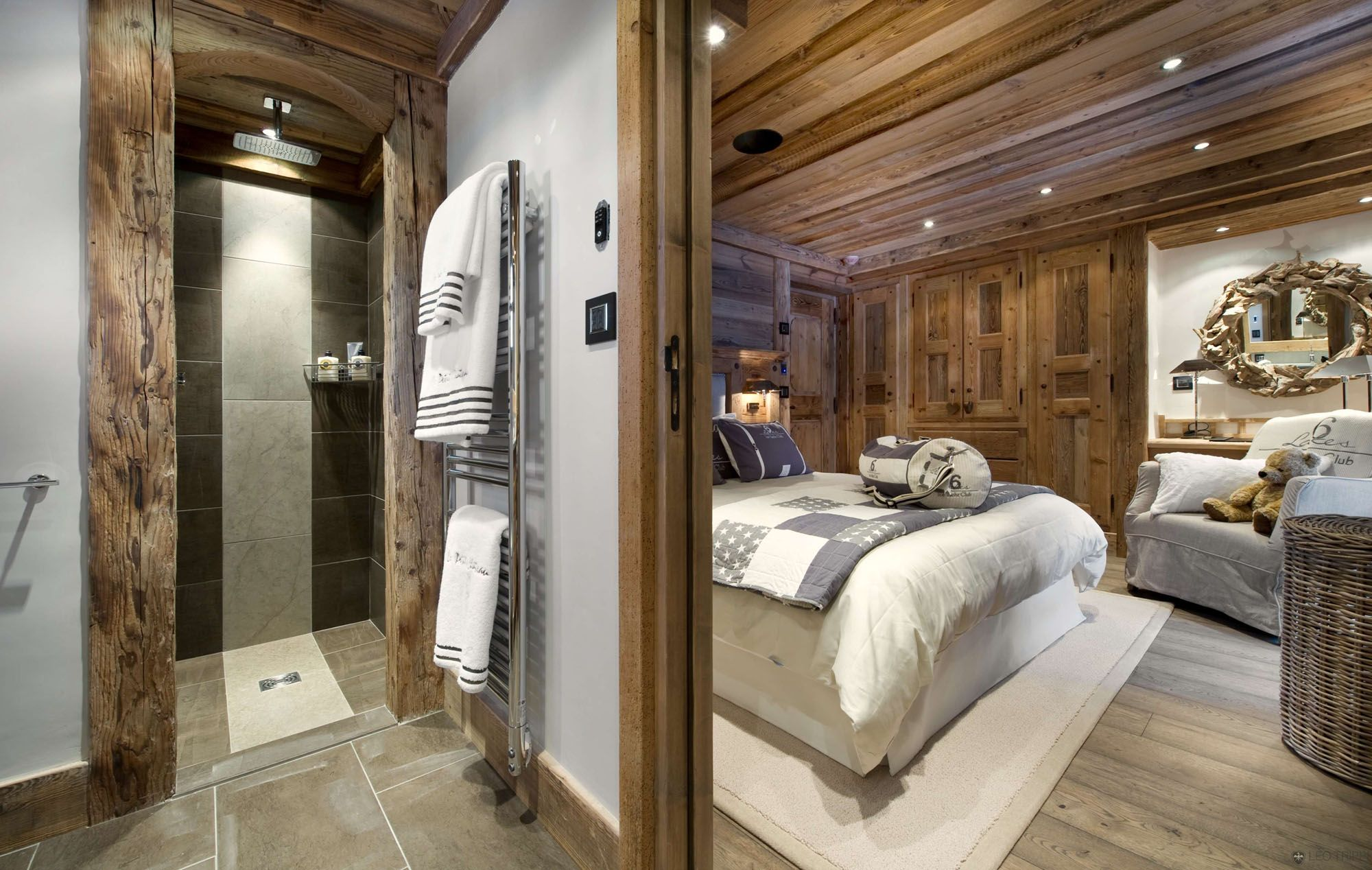 master bedroom - nice but maybe too much wood in the bedroom. Use ...