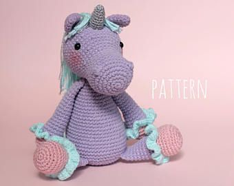 Amigurumi Unicorn : Crochet toy patterns amigurumi unicorn pattern crochet pattern