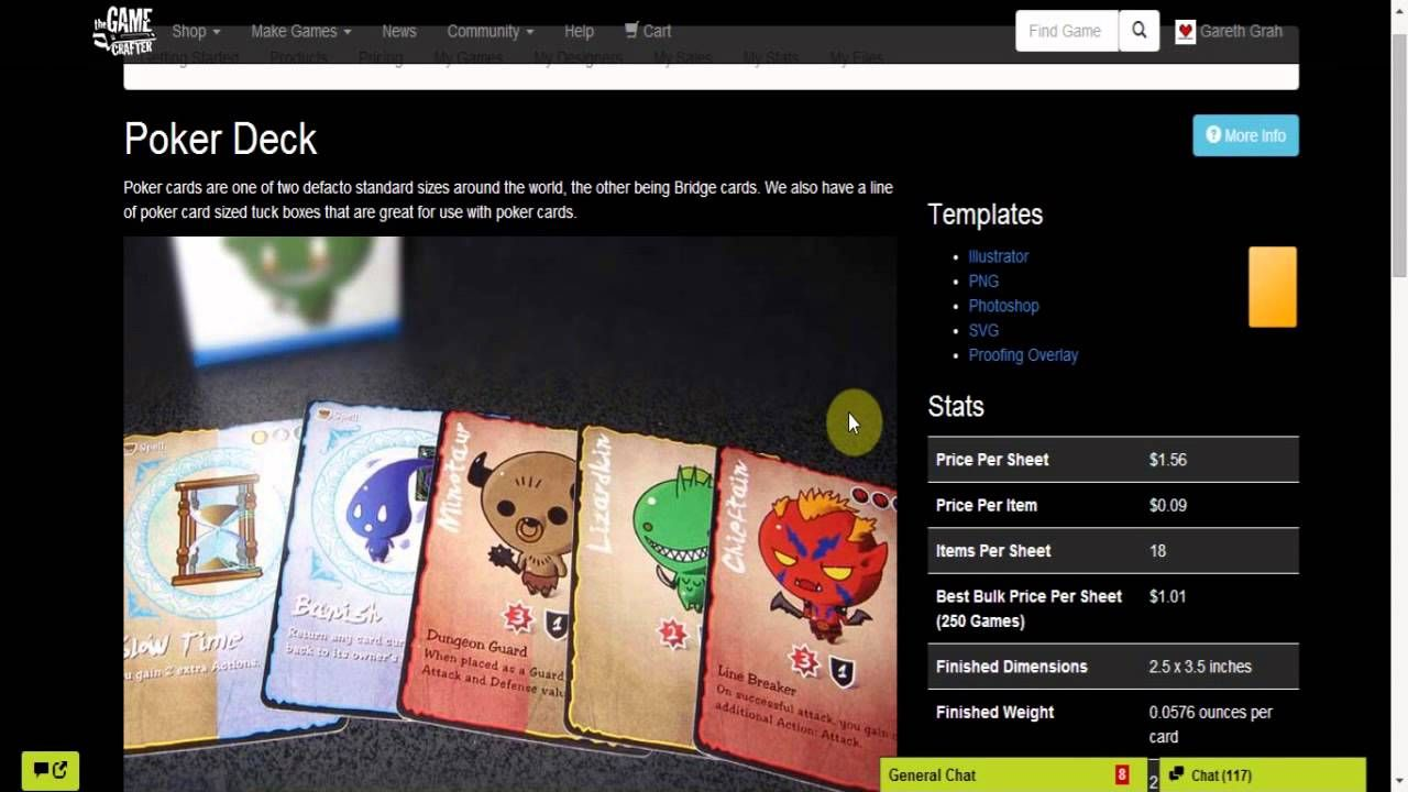 How To Get Up And Running With The Game Crafter A Print On Demand Website That Bridge Card Poker Cards Board Game Design
