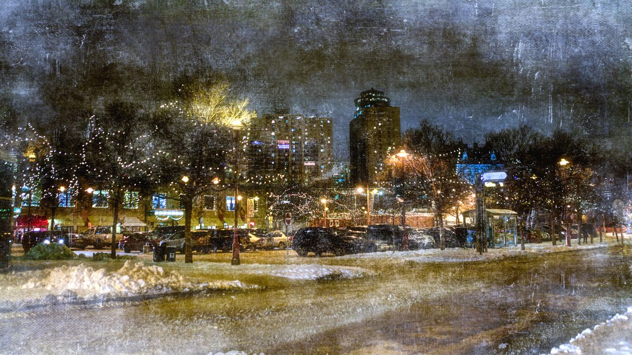 Carla Dyck Photography: Christmas Glow at The Forks - shot in Winnipeg, Canada