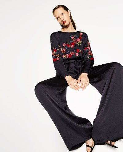 1269b6b5ff Get an exquisite look with jumpsuits at ZARA online. Kimono