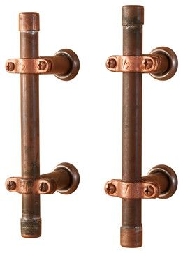 Cottage Collection Pull 3 Inch C C Dark Antique Copper Finish Antique Copper Hickory Hardware Antiques