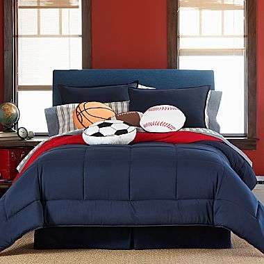 Home expressions comforter set jcpenney sports bedroom - Jcpenney childrens bedroom furniture ...