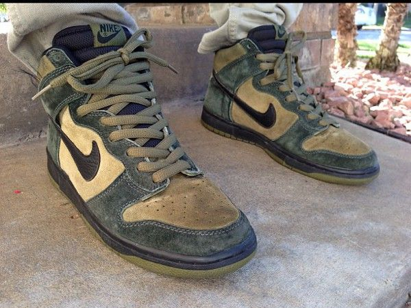 best service f3fd6 393f0 Nike Dunk High SB Hulk