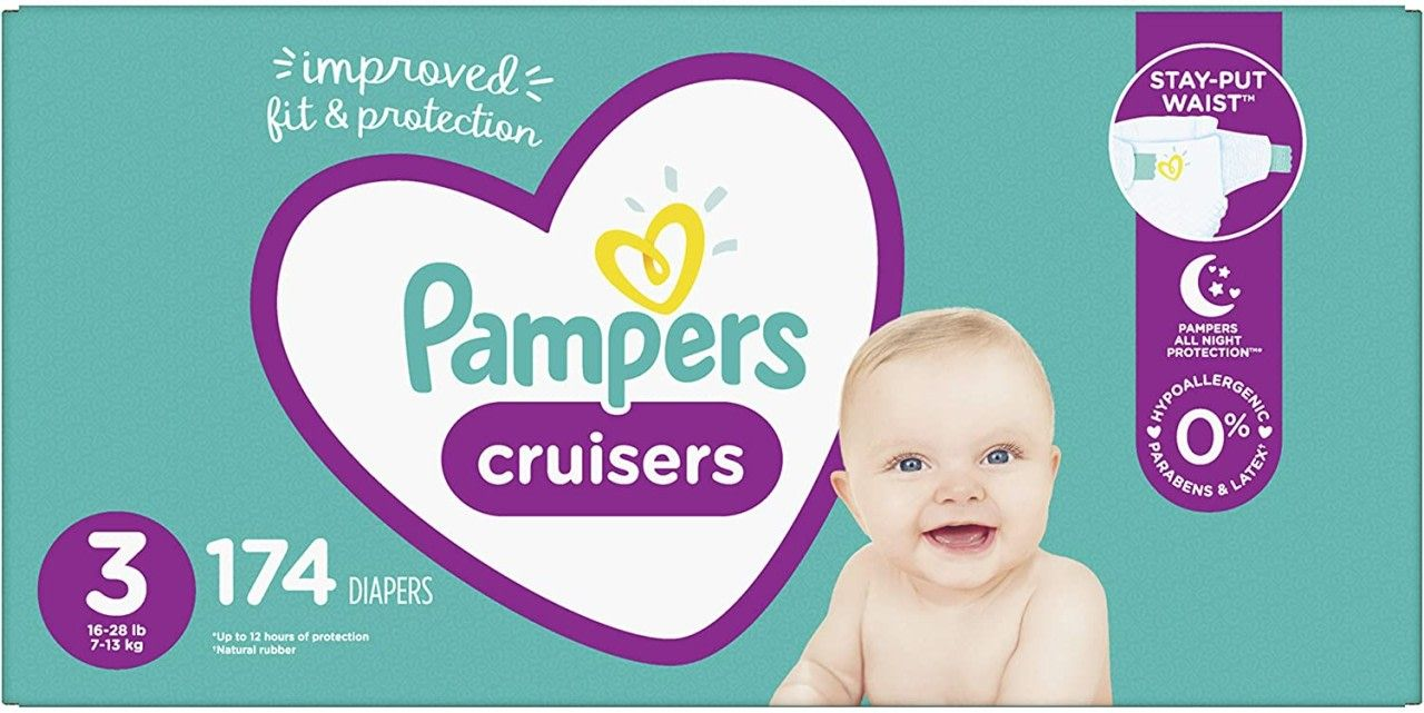 Pampers Cruisers Diapers as low as $0.19 each Shipped ...